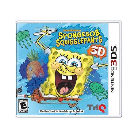 Jogo Spongebob Squigglepants 3D - 3DS