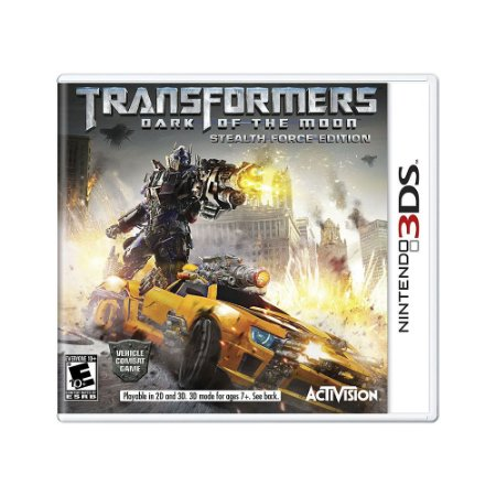 Jogo Transformers: Dark of the Moon (Stealth Force Edition) - 3DS