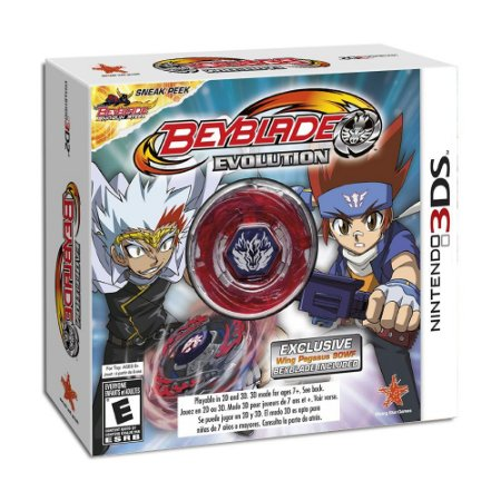 Jogo Beyblade Evolution (Collectors Edition) - 3DS