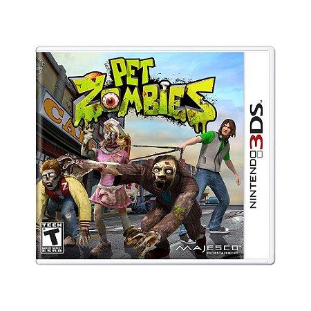 Jogo Pet Zombies - 3DS