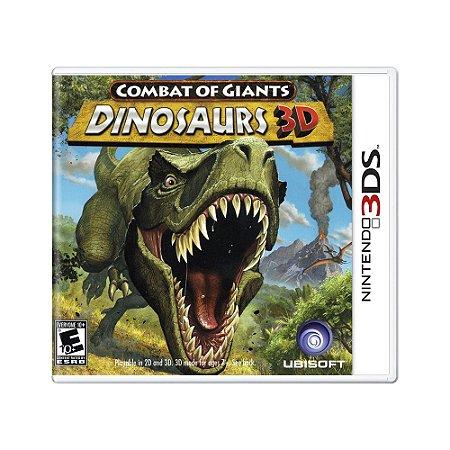 Jogo Combat of Giants: Dinosaurs 3D - 3DS