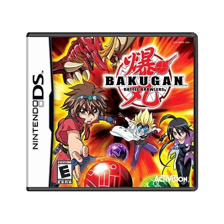 Jogo Bakugan: Battle Brawlers - DS