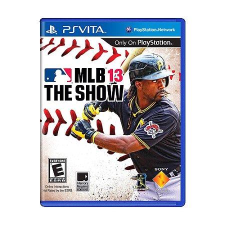Jogo MLB 13 The Show - PS Vita