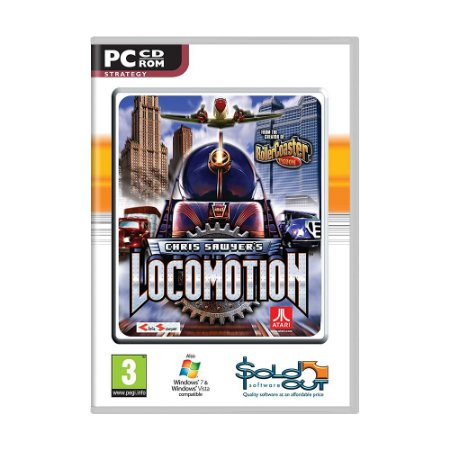 Jogo Chris Sawyer's Locomotion - PC