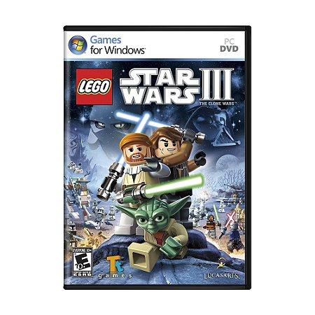 Jogo LEGO Star Wars III: The Clone Wars - PC