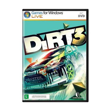Jogo Dirt 3 - PC