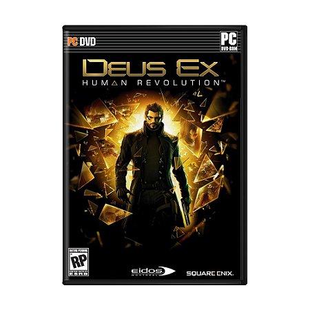 Jogo Deus Ex: Human Revolution - PC