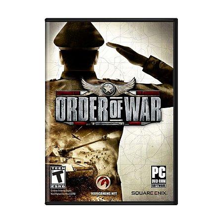 Jogo Order of War - PC