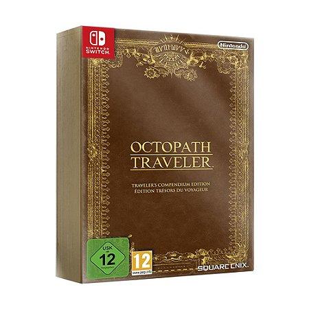 Jogo Octopath Traveler (Traveler's Compendium Edition) - Switch