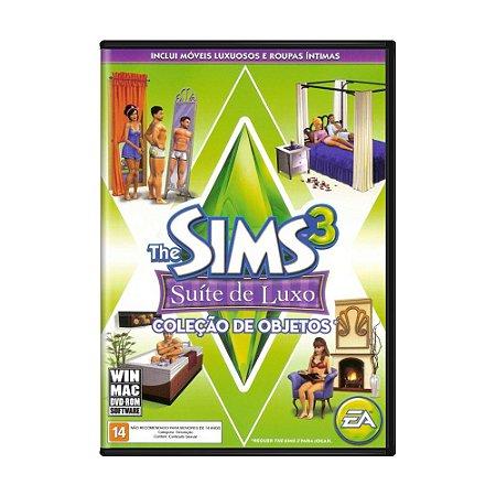 Jogo The Sims 3: Suíte De Luxo (Pacote de Expansão) - PC