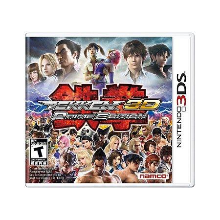 Jogo Tekken 3D: Prime Edition - 3DS