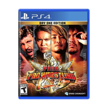 Jogo Fire Pro Wrestling World (Day One Edition) - PS4