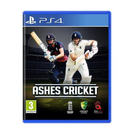 Jogo Ashes Cricket - PS4