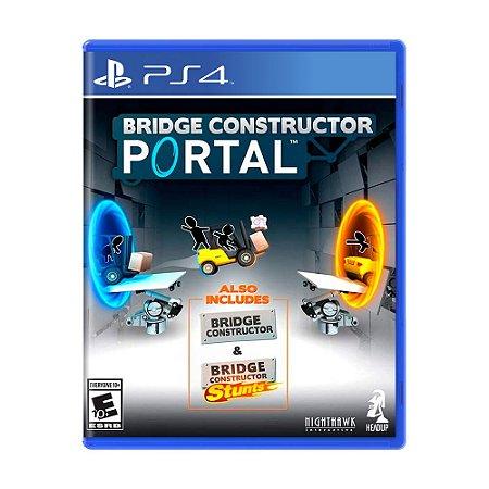 Jogo Bridge Constructor Portal - PS4