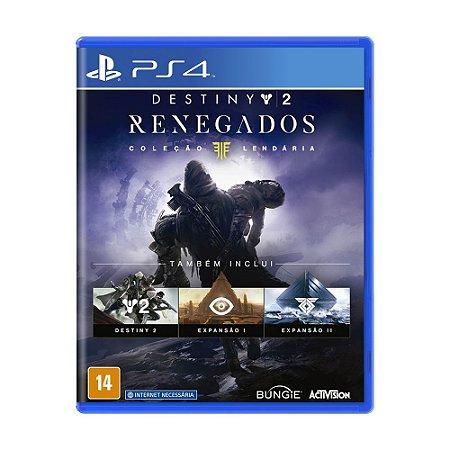 Jogo Destiny 2: Renegados (Coleção Lendária) - PS4