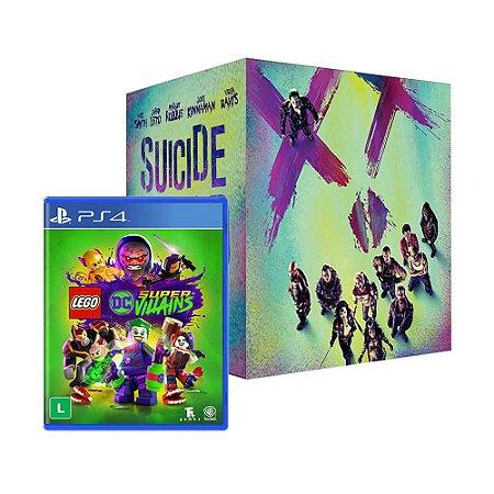 Jogo LEGO DC Super-Villains + Gift Box Esquadrão Suicida - PS4