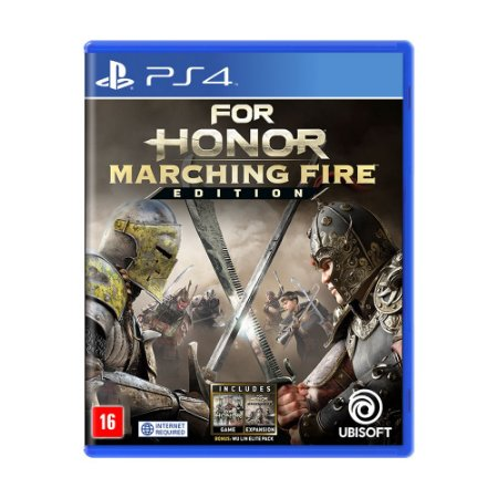 Jogo For Honor (Marching Fire Edition) - PS4