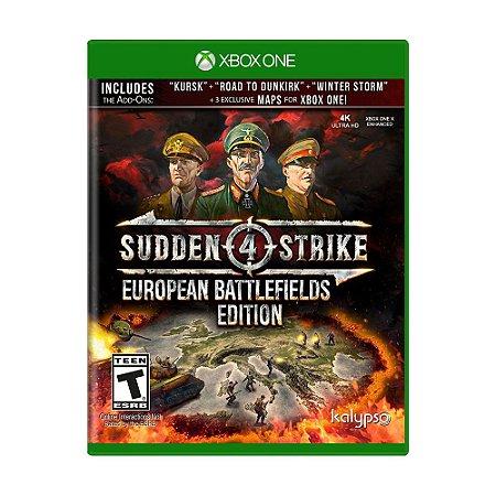 Jogo Sudden Strike 4 (European Battlefields Edition) - Xbox One