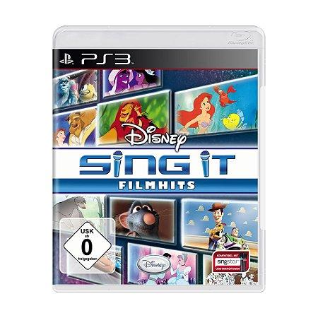 Jogo Disney Sing It: Film Hits - PS3