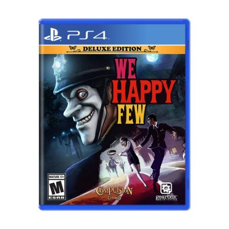 Jogo We Happy Few (Deluxe Edition) - PS4