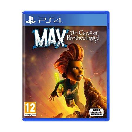 Jogo Max: The Curse of Brotherhood - PS4