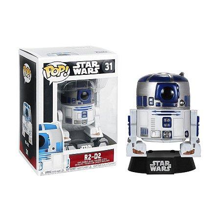 Boneco R2-D2 31 Star Wars - Funko Pop
