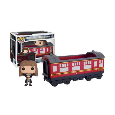 Boneco Hogwarts Express Carriage + Hermione Granger 22 Harry Potter - Funko Pop