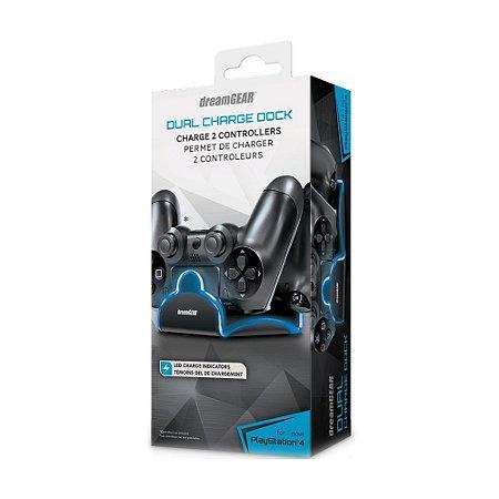 Carregador Duplo DreamGEAR LED - PS4