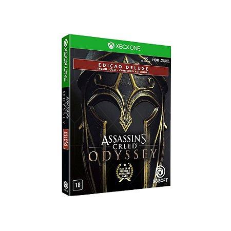 Jogo Assassin's Creed: Odyssey (Edição Deluxe) - Xbox One