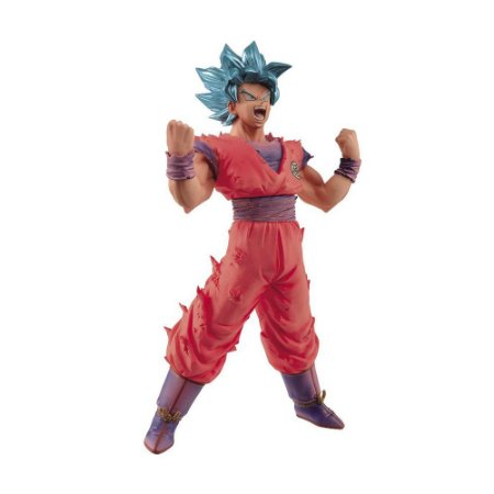 Action Figure Son Goku SSJ Blue Kaiohken (Blood of Saiyans) Dragon Ball Super - Banpresto