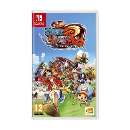 Jogo One Piece: Unlimited World Red (Deluxe Edition) - Switch