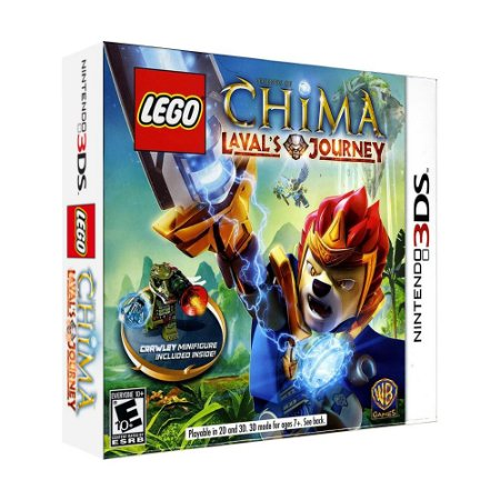 Jogo LEGO Legends of Chima: Laval's Journey (Crawley Bundle) - 3DS
