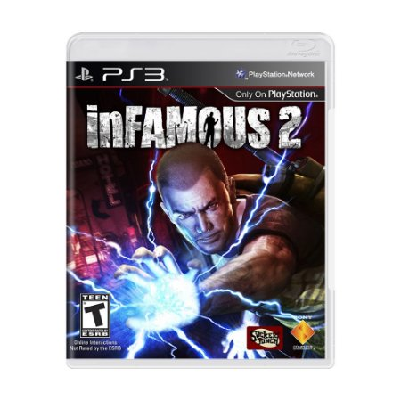 Jogo inFAMOUS 2 - PS3