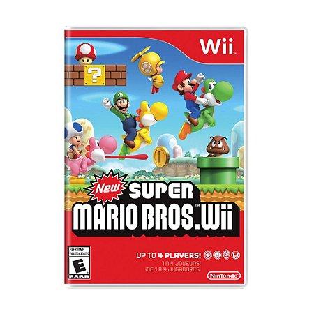 Jogo New Super Mario Bros. Wii - Wii