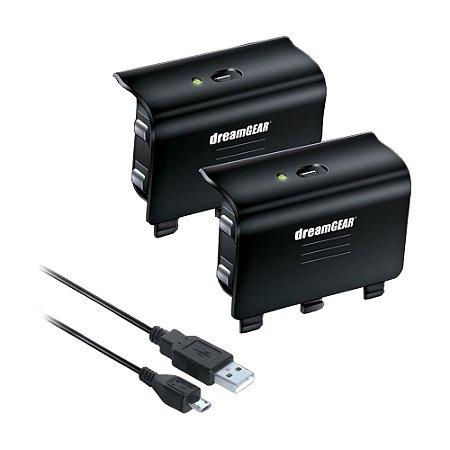 Cabo Carregador e Baterias Charge Kit DreamGEAR para Controle - Xbox One