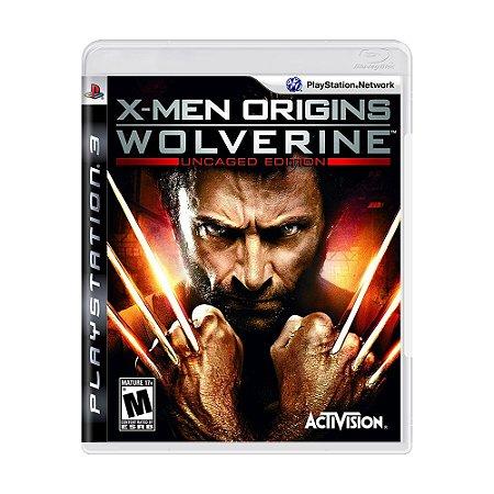 Jogo X-Men Origins: Wolverine (Uncaged Edition) - PS3
