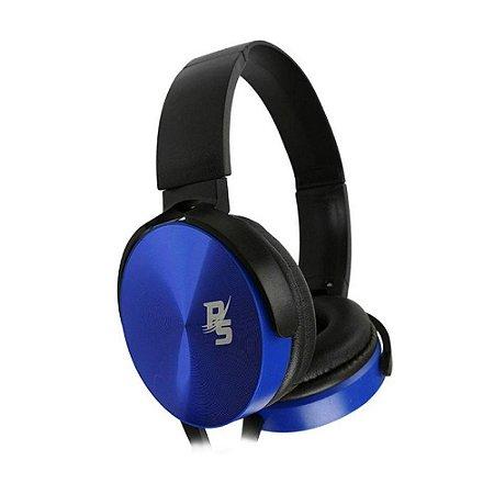 Headset Performance Sound Essential Azul com fio - PC, Mobile