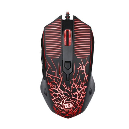Mouse Gamer Redragon Inquisitor Basic 3200dpi com fio