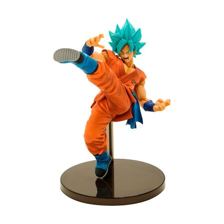 Action Figure Son Goku Super Saiyan God Super Saiyan (Fes!! Special Ver.) Dragon Ball Super - Banpresto