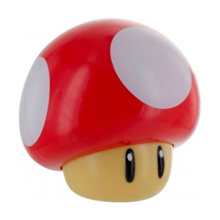 Luminária Sonora Mushroom Light Super Mario - Paladone