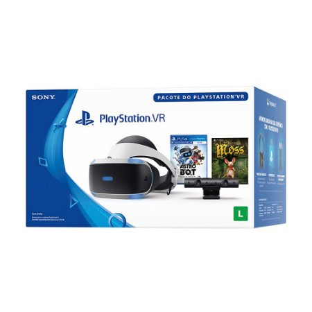 Playstation VR Bundle (Pacote Astro Bot e Moss) - Sony