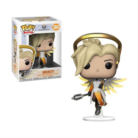 Boneco Mercy 304 Overwatch - Funko Pop