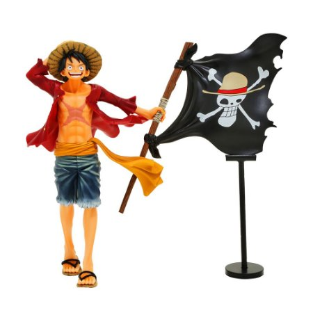 Action Figure Monkey D. Luffy (One Piece Magazine Figure) One Piece - Banpresto
