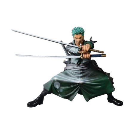 Action Figure Roronoa Zoro (Scultures Big Zoukeio Shining Color ver.) One Piece - Banpresto