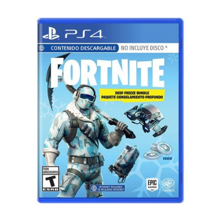Fortnite (Deep Freeze Bundle) (Mídia Digital) - PS4