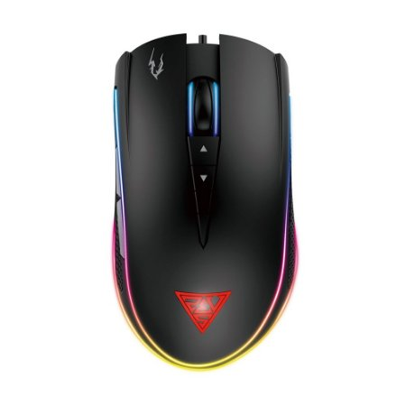 Mouse Gamer Gamdias Zeus M1 RGB 7000dpi com fio