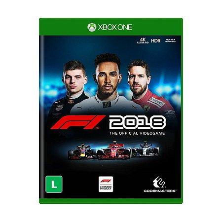 Jogo F1 2018 - Xbox One
