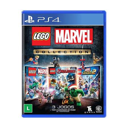 Jogo LEGO Marvel Collection - PS4