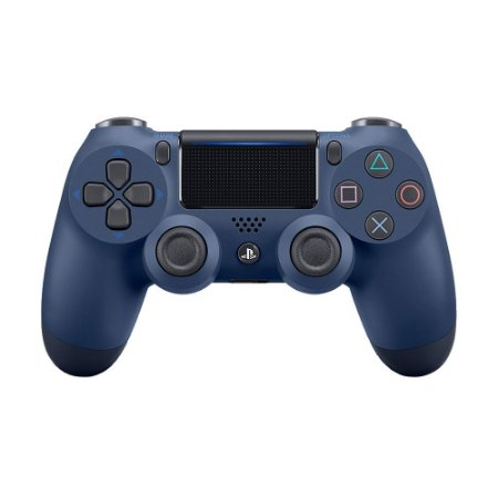 Controle Sony Dualshock 4 Midnight Blue sem fio (Com led frontal) - PS4