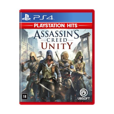 Jogo Assassin's Creed: Unity - PS4